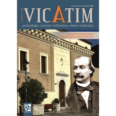 I quaderni di Vicatim (anno II, numero 1, giugno 2018)